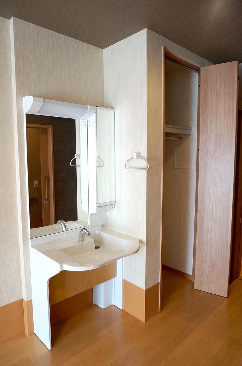 居室洗面台・クローゼット
